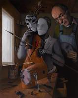 Artist in Love III by borda