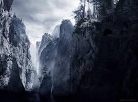 The Dark Waters by borda