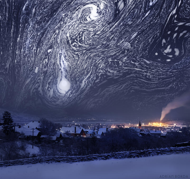 Starry Night feature Van Gogh by borda