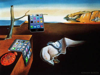 Bending Iphone 6 Plus with Dali by borda