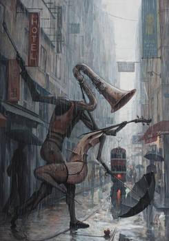 Life is a Dance in The Rain III