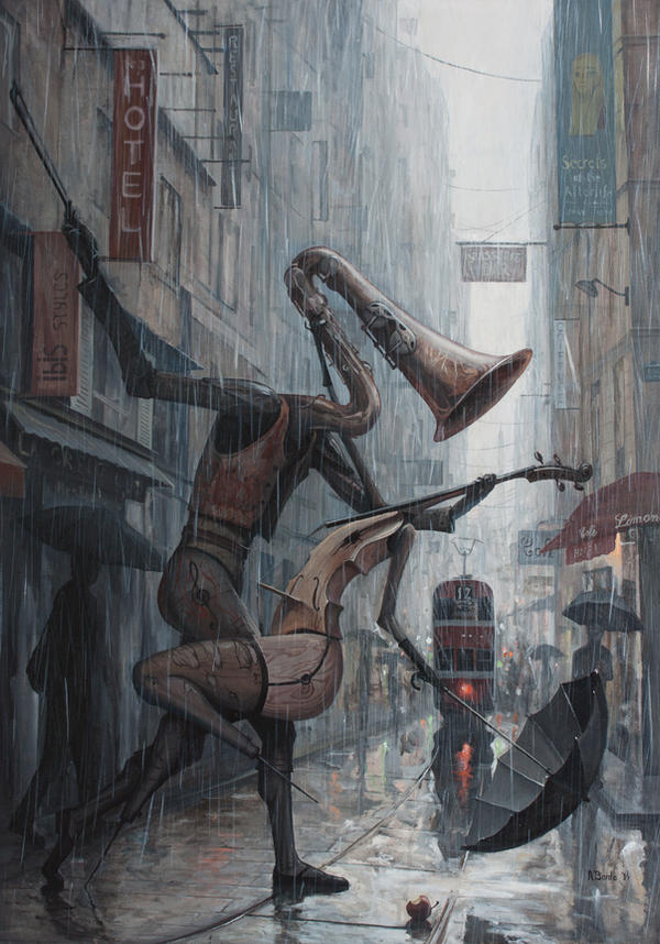 Life is a Dance in The Rain III