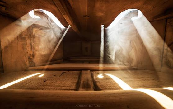 Inside a Violin