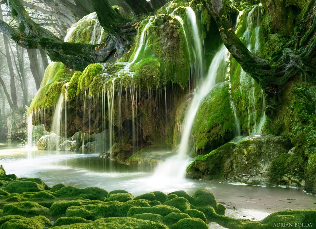 Real Fairytale Landscapes Fairy Falls by borda o...