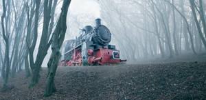 A Ghostly Steam by borda