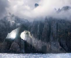The Hollow Mountain by borda