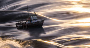 The old ship and the sea by borda