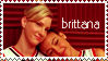 Brittana stamp by firestar21