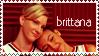 Brittana stamp by firestar21