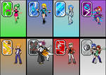 My Gym Leaders : Badges