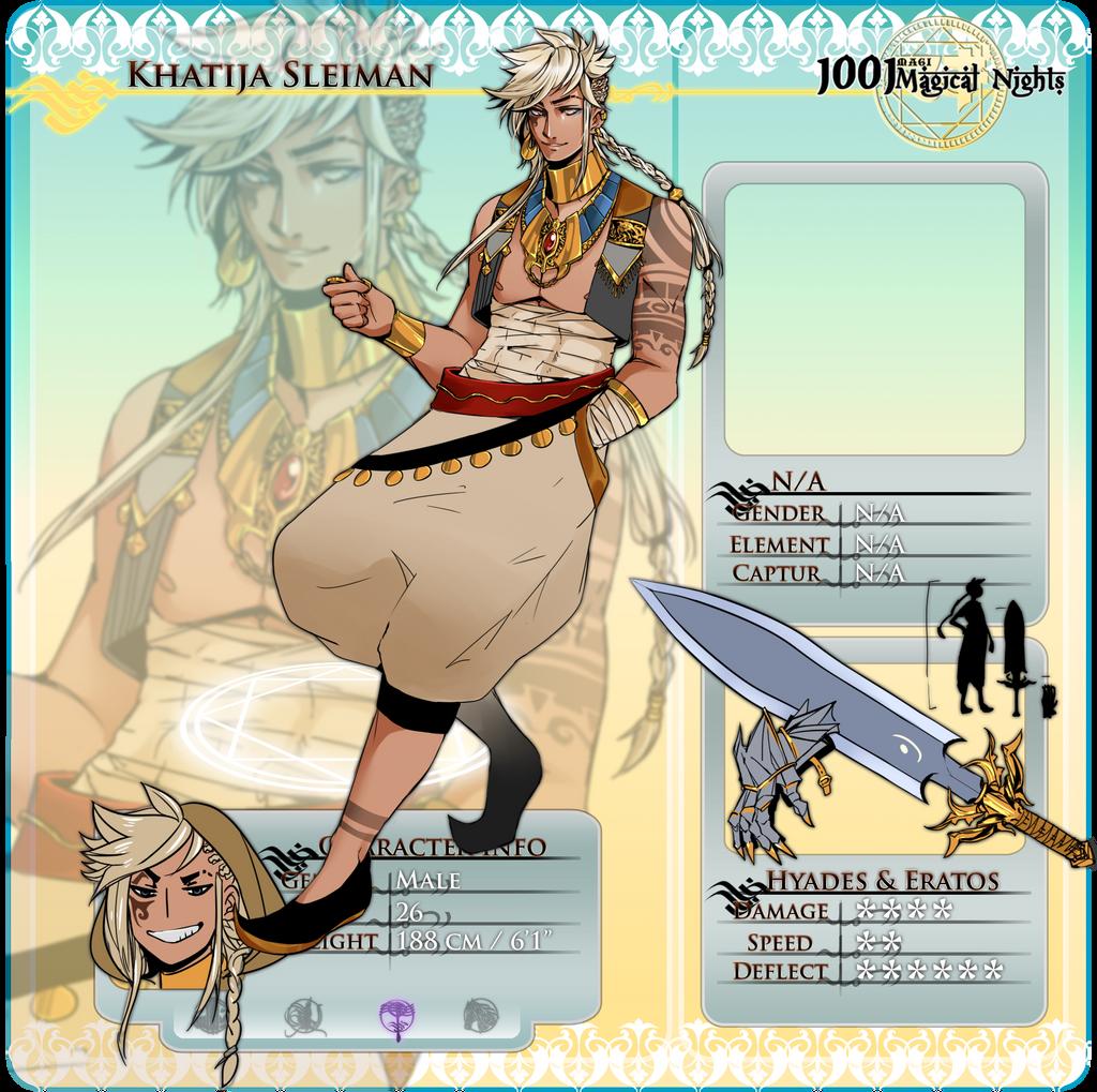 1001MN: Khatija by Meishali