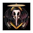 MNBadge: Dead Phoenix by Meishali