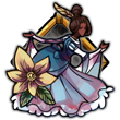 MNBadge: The Dancing Maiden by Meishali