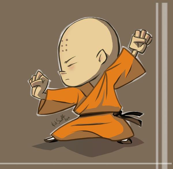 Little Monk by NickSwift