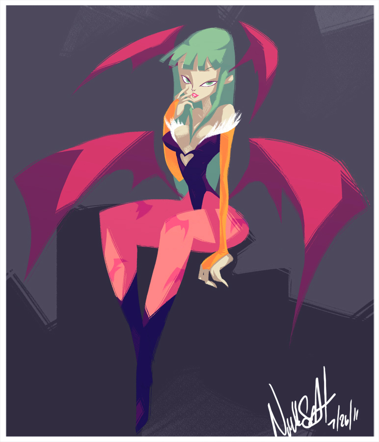 Morrigan by NickSwift