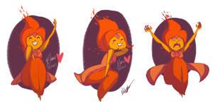 Adventure Time- Flame Princess by NickSwift