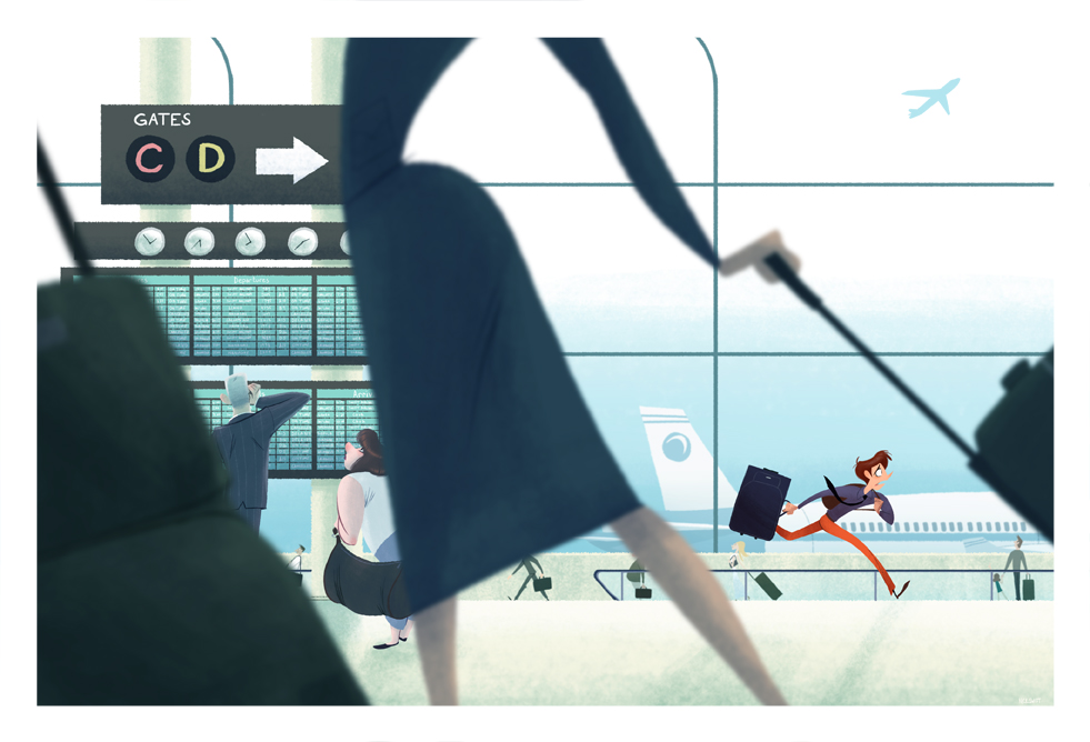 1:55 Arrival, 2:00 Departure by NickSwift