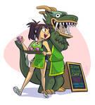 Working at the Jasmine Dragon