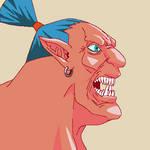 Troll warlord (pixel art)