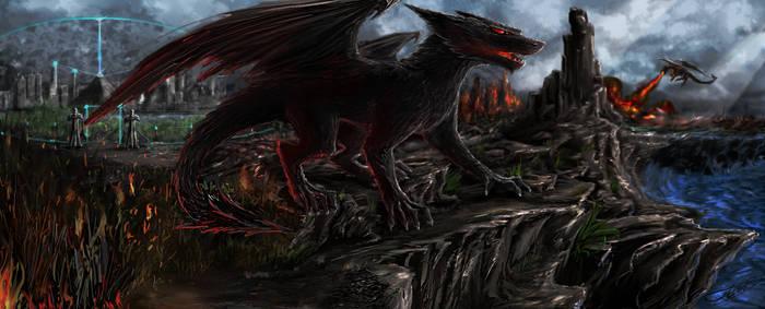 Dragons landscape
