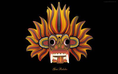 Gini Raksha - 'Fire Demon'