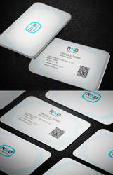 Light Corporate Business Card by calwincalwin