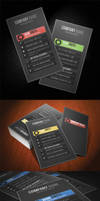PROFILE Business Card 5 Different Color