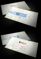 C Map Business Card by calwincalwin