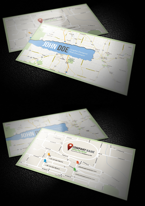 C Map Business Card by calwincalwin on DeviantArt