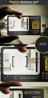 Plastico corporate business card