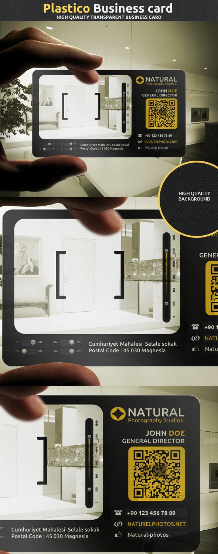 Plastico corporate business card by calwincalwin