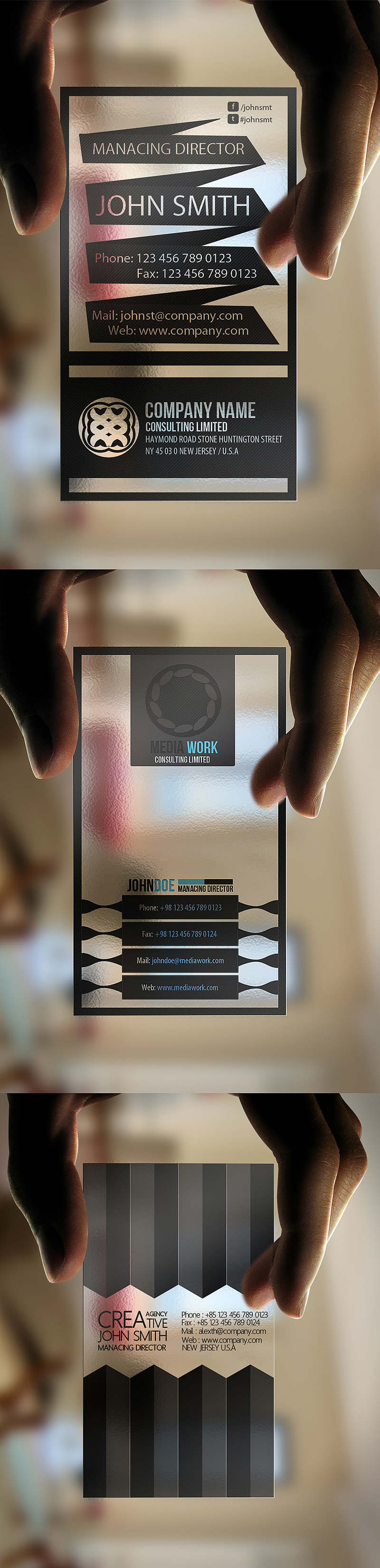 Transparent Bundle 3 in 1 Bundle by calwincalwin