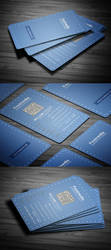 Clean Business Card by calwincalwin