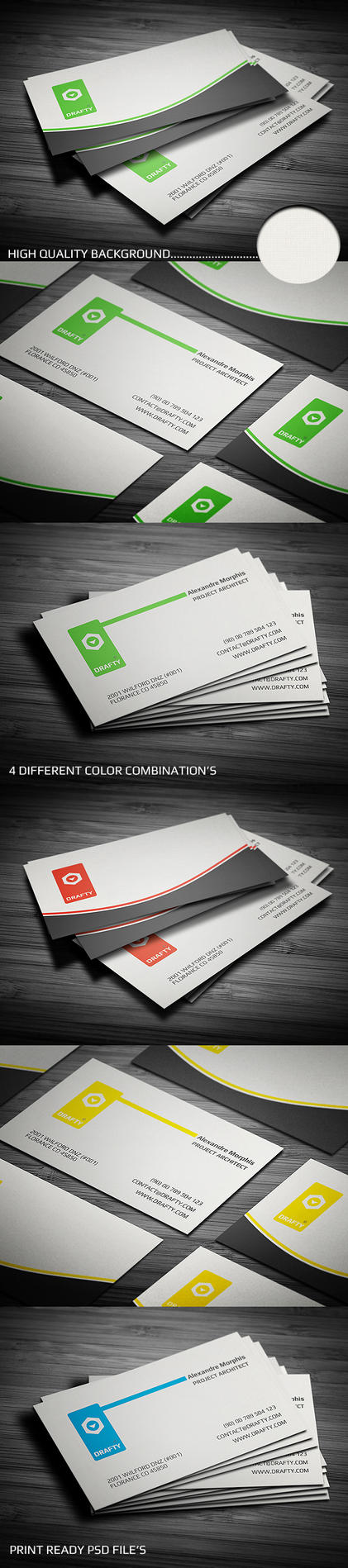 New corporate business card by calwincalwin