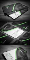 Sleek Corporate Business Card