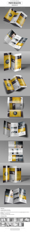 Tri Fold / Brochure / Mock-Up by calwincalwin