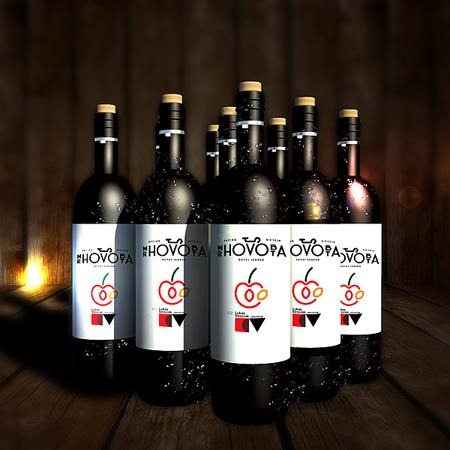 Wine Bottle Mockup by calwincalwin