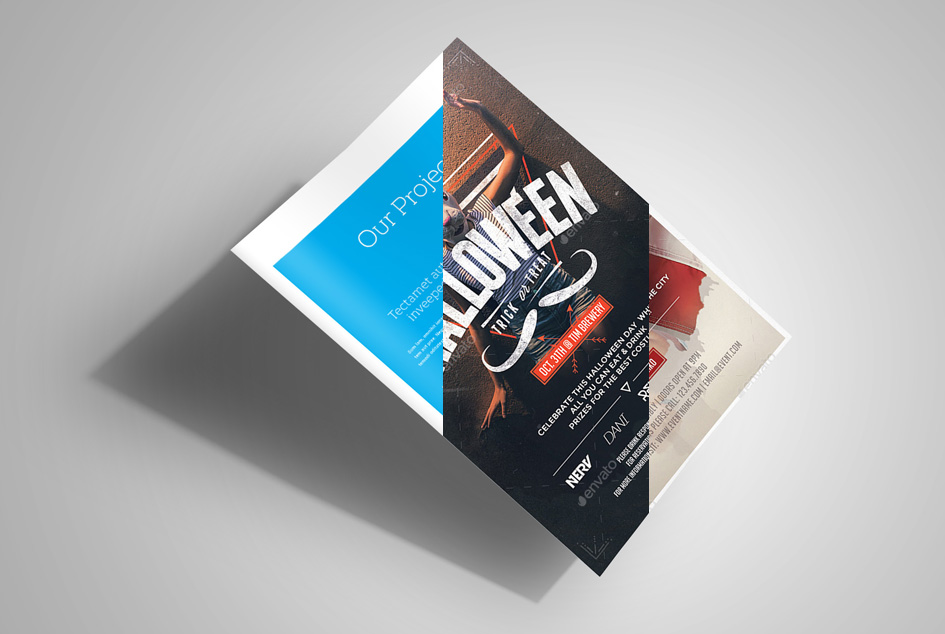 Flyer Mock-Up Vol. 2 by calwincalwin