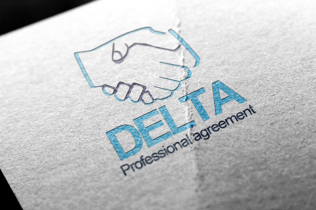 Free Delta Agreement Logo by calwincalwin