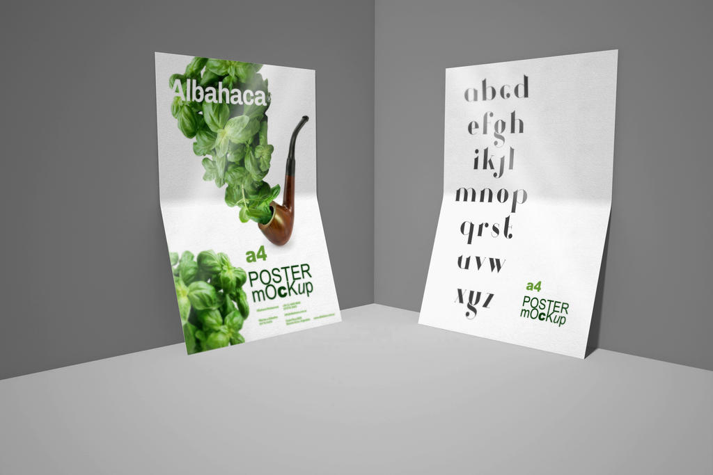 Free Flyer Poster Mockup Vol 4 by calwincalwin