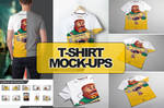 T-Shirt Mock-up 10 in 1
