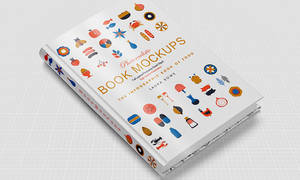Free Book Hard Cover Mockup Vol 4