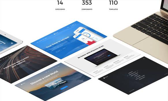 Free Sample  Phoenix Startup UI Kit