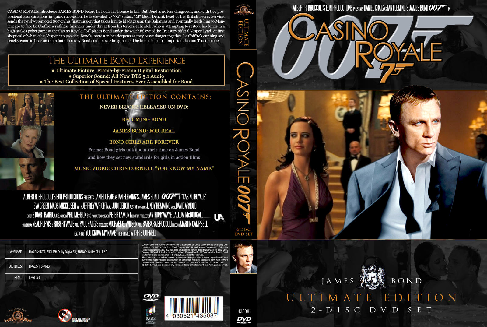 james bond casino royale dvd cover
