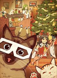 Secret Santa for Kyo by Solkeera