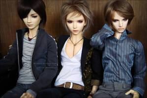 Minsoo + Andrea + Axel by Solkeera