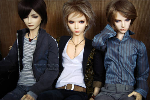 Minsoo + Andrea + Axel