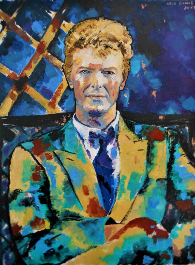 David Bowie by alistark91