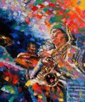 Sax Player by alistark91