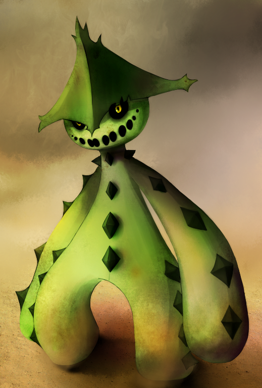 Cacturne by MarchingSIN on DeviantArt